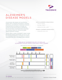 Alzheimers Disease Models