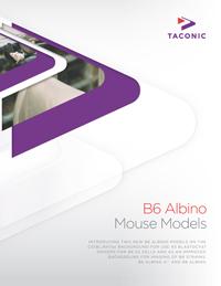B6 Albino mouse models