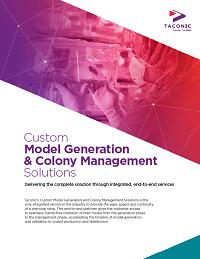 Custom Model Generation & Colony Management Solutions