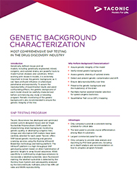 Genetic Background Characterization