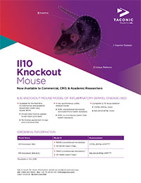 Il10 Knockout Mouse Flyer