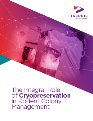 White Paper: The Integral Role of Cryopreservation in Rodent Colony Management