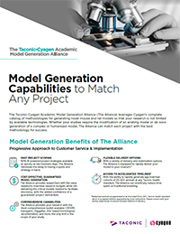 Model Generation Capabilities