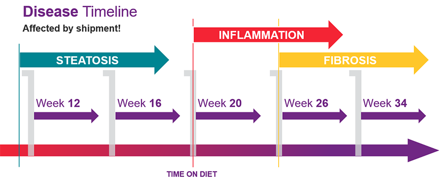 Graphical representation of Disease Timeline