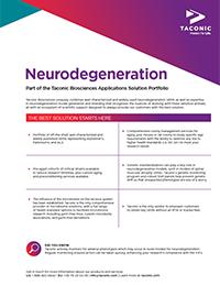 Neurodegeneration Flyer