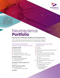 Neuroscience Portfolio Flyer
