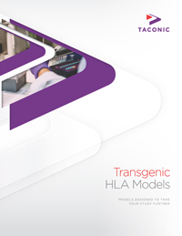 Transgenic HLA Models