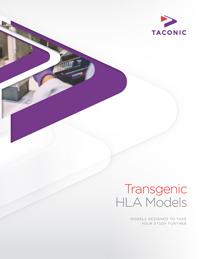 Transgenic HLA Models
