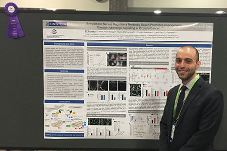 Ali Zahalka Wins AACR 2017 Travel Award