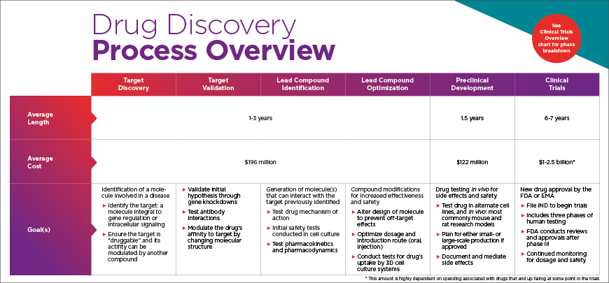 Drug discovery Process Overview