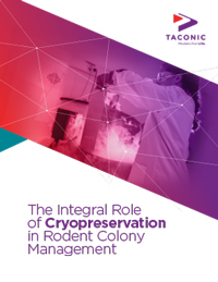 The Integral Role of Cryopreservation in Rodent Colony Management